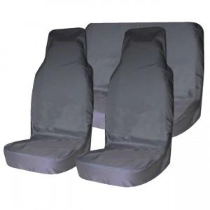 Грязезащитные чехлы на сиденья (серый)