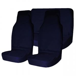 Грязезащитные чехлы на сиденья (синий)