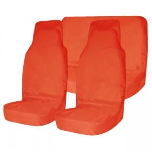 Грязезащитные чехлы на сидения Tplus (оранжевые)