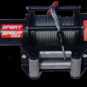 Lebedka avtomobil'naja Sprut-11000 12V 1